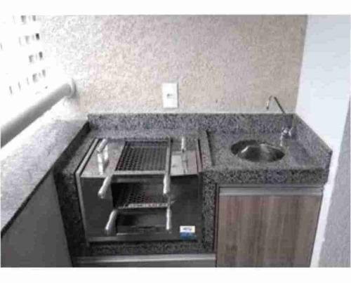 churrasqueira p/ apartamento sem fumaça ecológica 65 cm