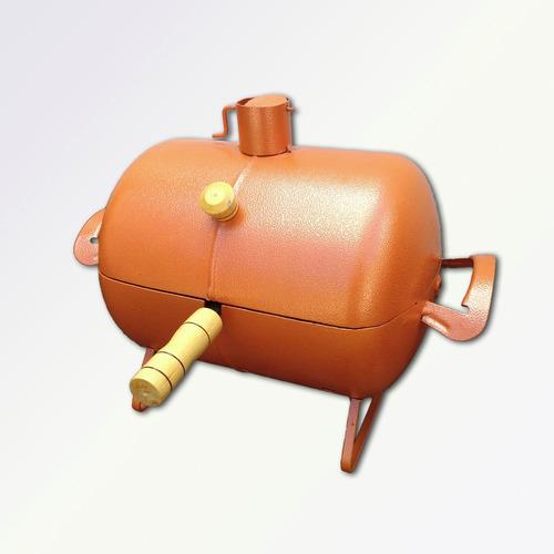 churrasqueira pequena tambor bafo leve prática várias cores