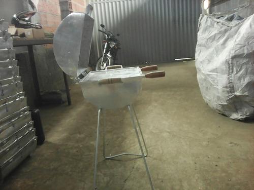 churrasqueiras de alumínio
