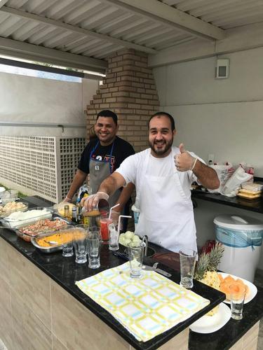 churrasqueiro domiciliar c/ cnpj