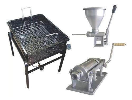 churrera 2 kg rellenadora freidora churros combo churreria