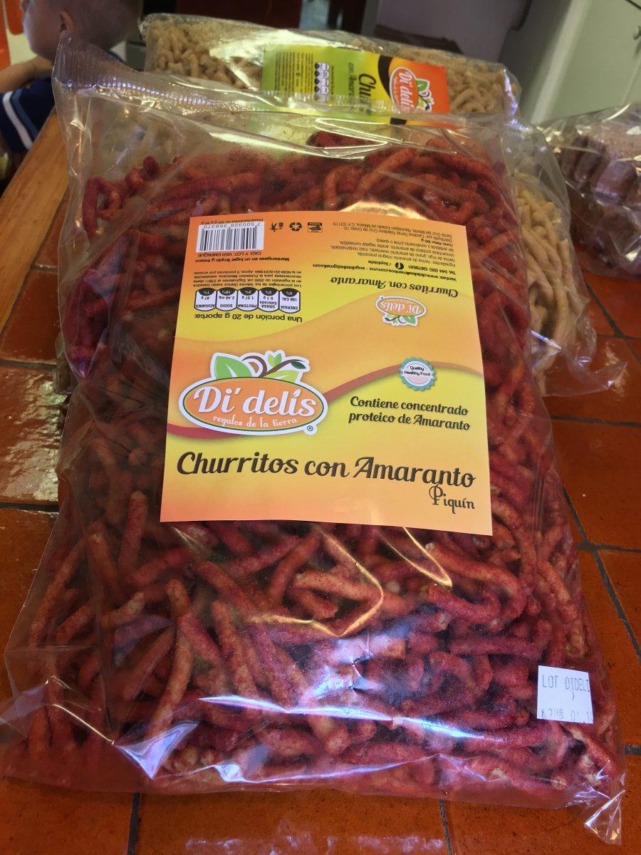 Churritos De Amaranto 1kg - $ 73.00 en Mercado Libre