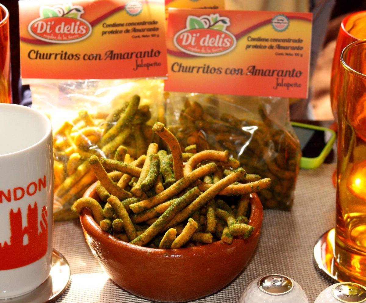 Churritos De Amaranto - $ 8.00 en Mercado Libre