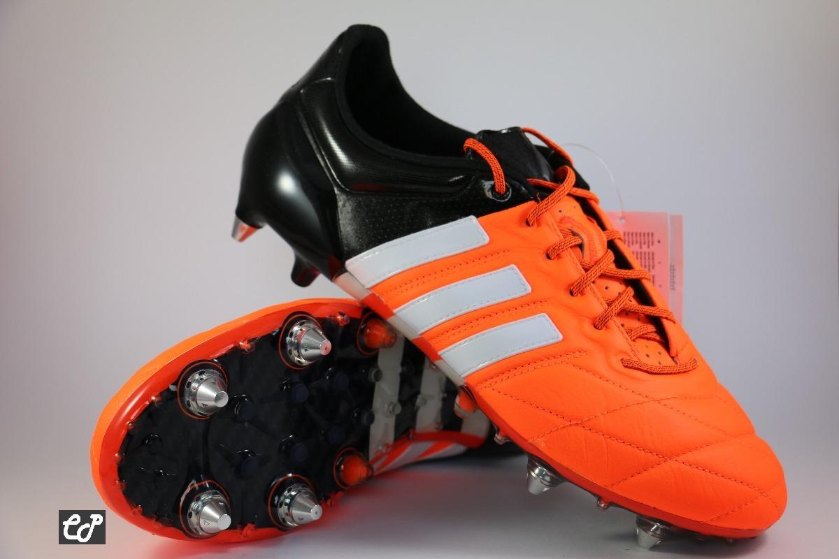 Chuteira adidas Ace 15.1 Sg Couro - Trava Mista - R  599 55785ccd6034a