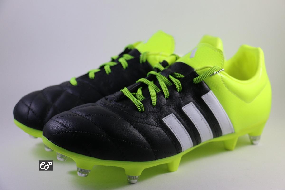 Chuteira adidas Ace 15.3 Sg Couro - Trava Mista - R  399 6c3007329fcdc