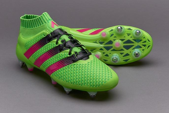 the latest 0ab90 52755 Chuteira adidas Ace 16.1 Primeknit Sg Solar Green #37