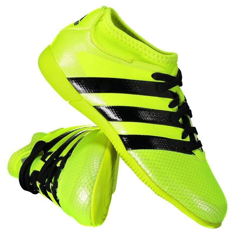 900f1c35b1a42 chuteira adidas ace 16.3 primemesh in futsal juvenil amarela. Carregando  zoom.