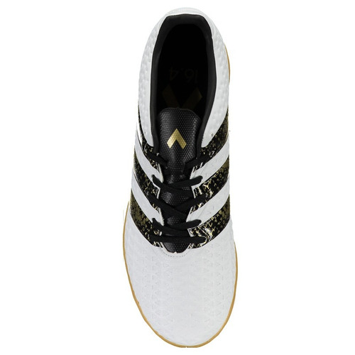 fbda4a528f Chuteira adidas Ace 16.4 In Futsal Juvenil Branca - R  114