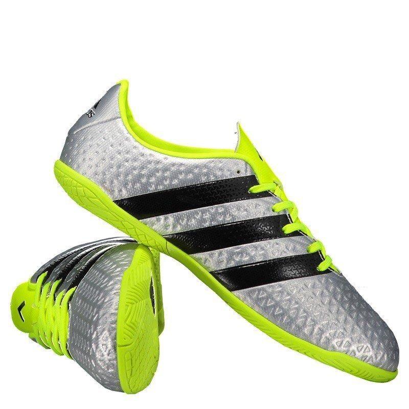 fbef90c0658e6 Chuteira adidas Ace 16.4 In Futsal Juvenil Prata - R$ 139,90 em ...