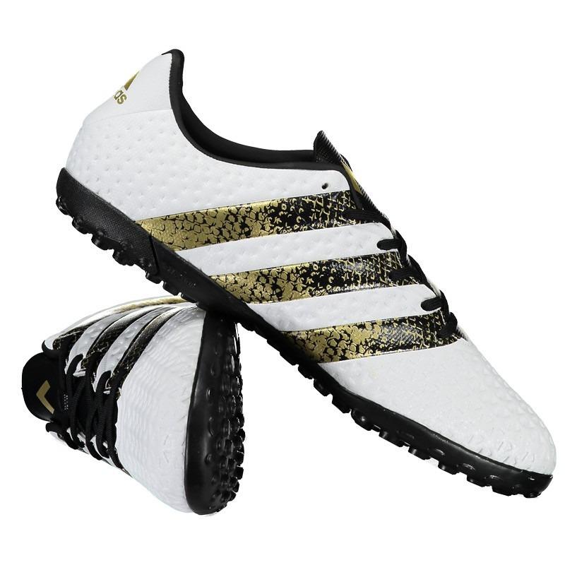 ... various styles Chuteira adidas Ace 16.4 Tf Society Branca - R 169 dd1bbc9f310e8