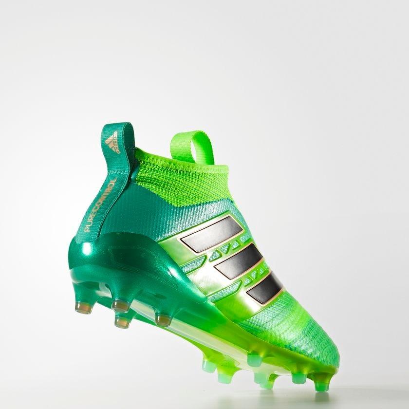 adidas ace verde  chuteira adidas ace 17.1 purecontrol profissional verde. carregando  zoom. d20e37fa6650d