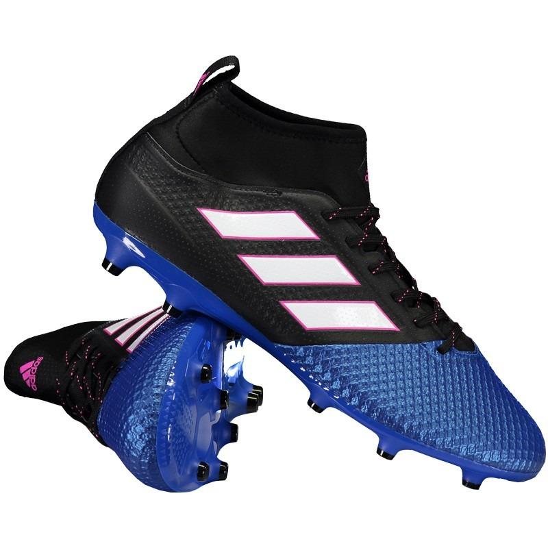 Chuteira adidas Ace 17.3 Fg Campo Azul - R  299 18ac81f4894f3