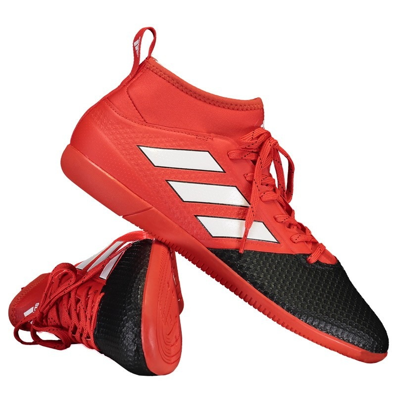 1f61b36b30 chuteira adidas ace 17.3 primemesh in futsal vermelha. Carregando zoom.