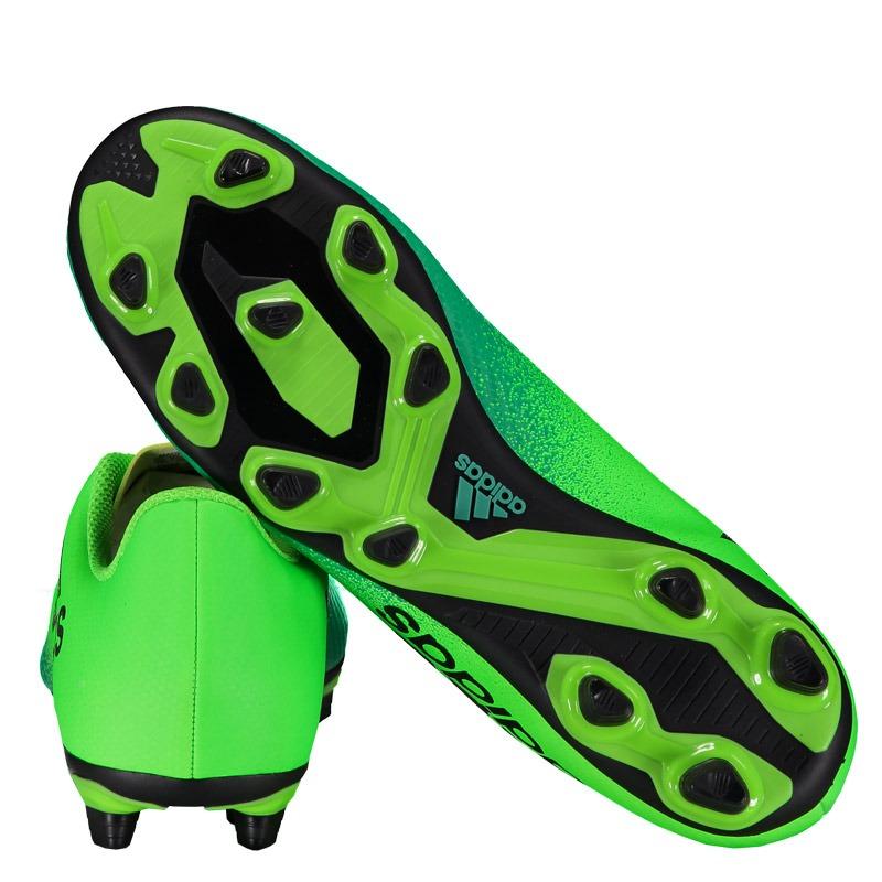 64dc2dcd1 Chuteira Adidas X 164 FXG Campo Verde Somente