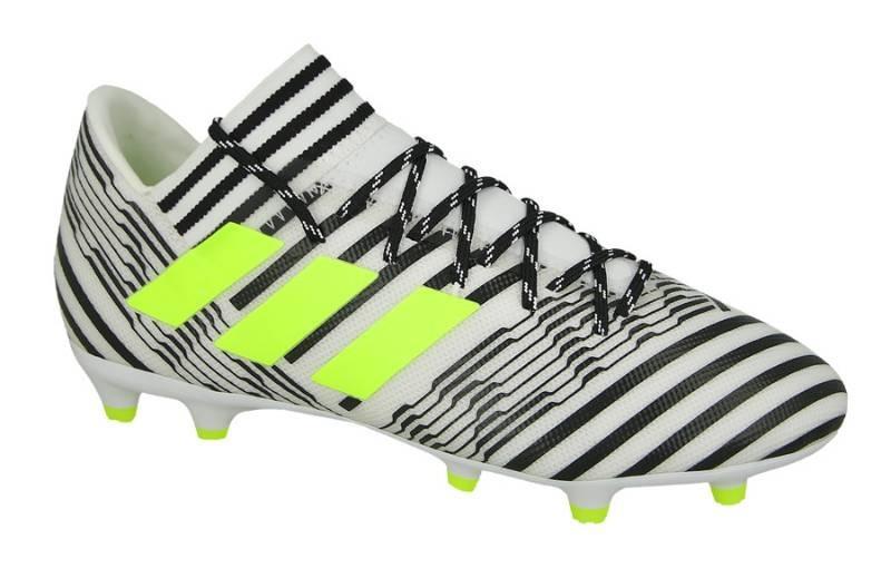 c92c5a2750f7d Chuteira adidas Campo Nemeziz 17.3 Fg Bco/pto/ama - R$ 349,00 em ...