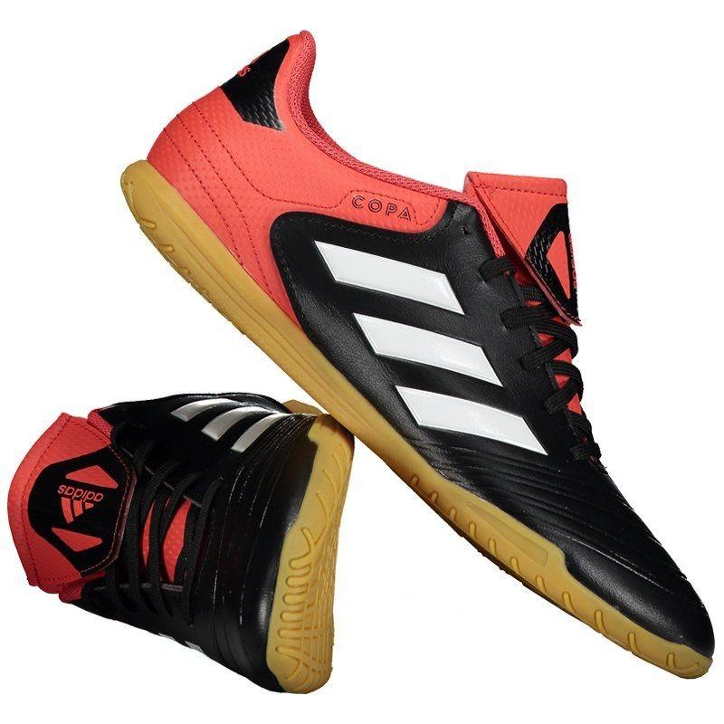 chuteira adidas copa 18.4 in futsal preta. Carregando zoom. a4f6e622f9506