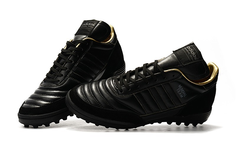 90108f5fd7 Chuteira adidas Copa Mundial Team Black Society Couro - R$ 339,00 em ...