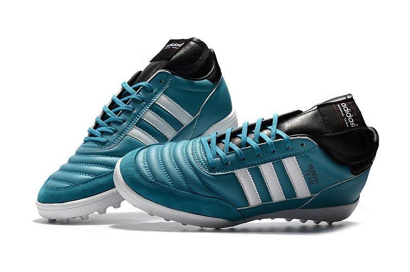96f2a5a74c07d chuteira adidas copa mundial team blue+white society. Carregando zoom.