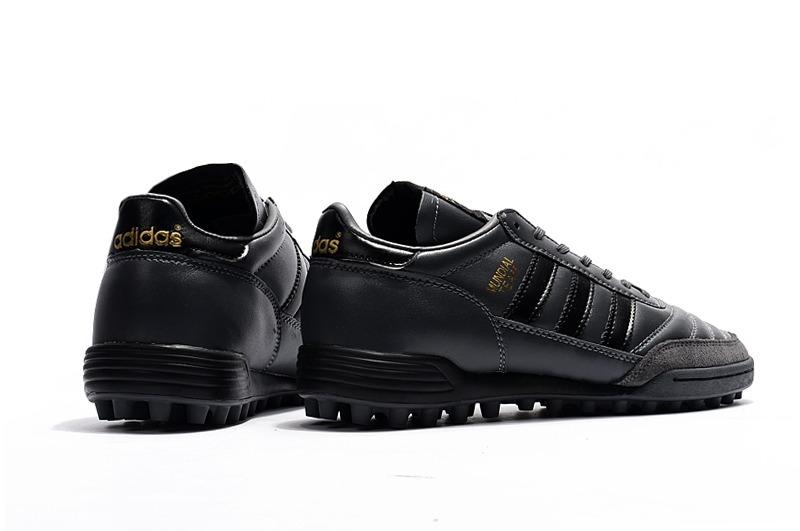 chuteira adidas copa mundial team society couro cinza+black. Carregando zoom . 323cb8c0d8fe8
