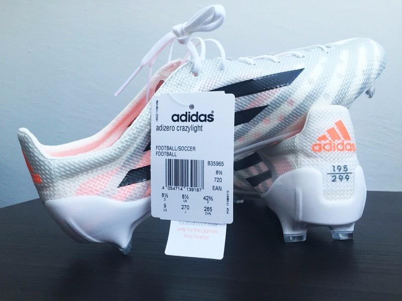 competitive price f6cd2 c7319 Chuteira adidas Crazylight 99 Gramas 299 Fabricadas No Mundo