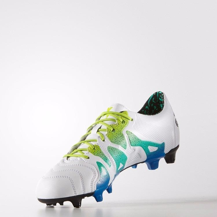 Chuteira adidas Fg X15.1 Leather Original S74617 1magnus - R  449 aad8915bc9ab7