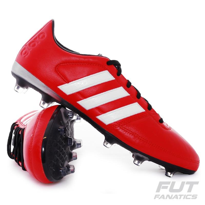 3a69d2c5352ad Chuteira adidas Gloro 16.1 Fg Campo Vermelha - Futfanatics - R  299 ...