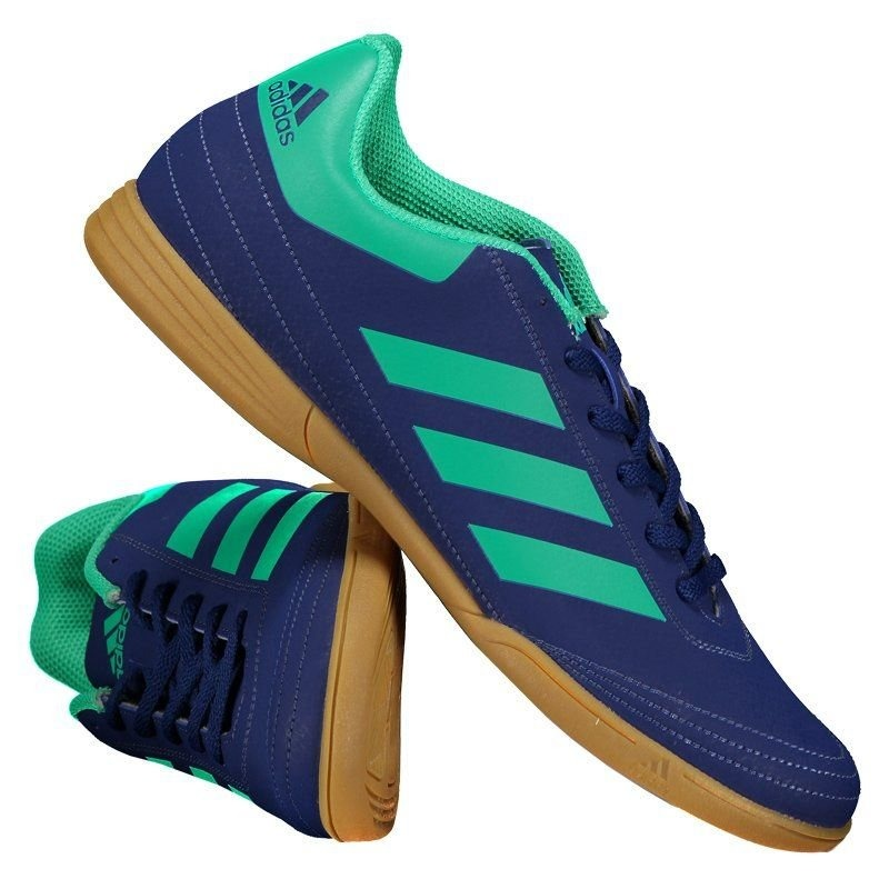 551d80bc22 chuteira adidas goletto vi in futsal azul. Carregando zoom.