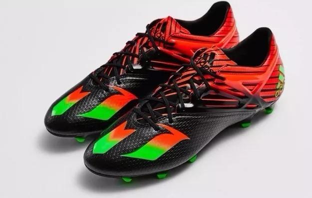 e8734a7735ac6 Chuteira adidas Juvenil Messi 15.1 - Campo - R  299