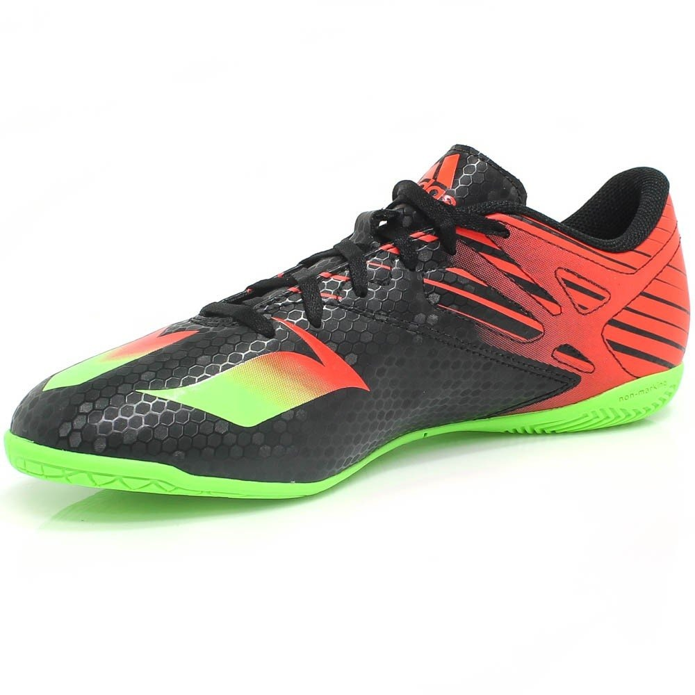 c219ed7df1 Chuteira adidas Messi 15 4 Futsal (original + Nfe)