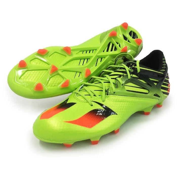 Chuteira adidas Messi 15.1 Lime Red Fg Profissional  38 Nova - R ... 1e1412d376303