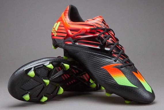 Chuteira adidas Messi 15.1 Solar Red Fg Profissional 45 Nova - R ... 332680f4a45b1