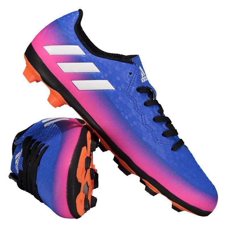 ... chuteira adidas messi 16.4 fxg campo juvenil azul. Carregando zoom.  classic shoes ca9e1 811b1 ... deab0927c1610