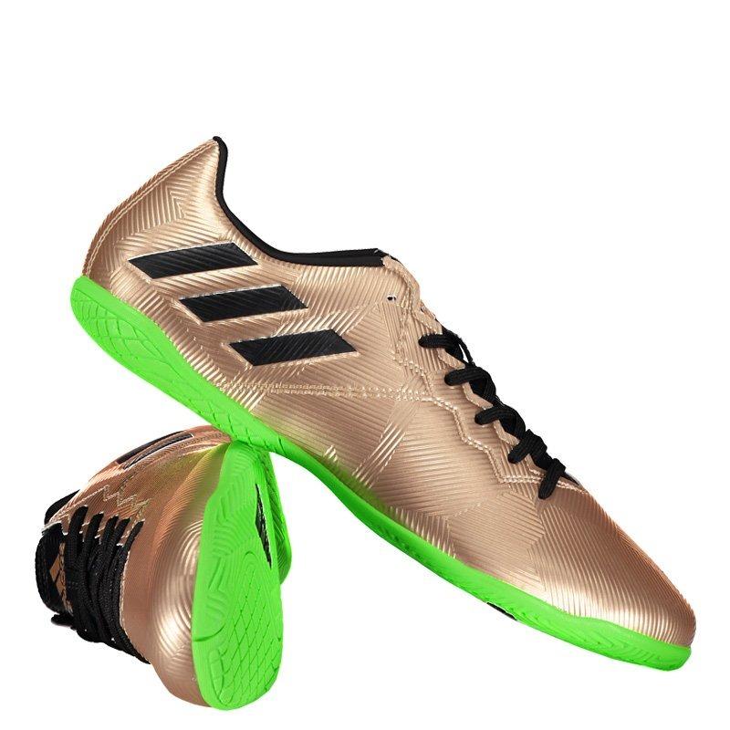 0df3ef1529e30 Chuteira adidas Messi 16.4 In Futsal Dourada Juvenil - R$ 179,90 em ...