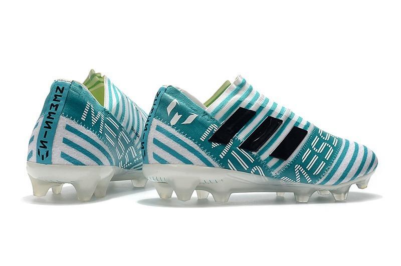 90fa9f9cf50fe chuteira adidas nemeziz 17 profissional azul messi pronta en. Carregando  zoom.