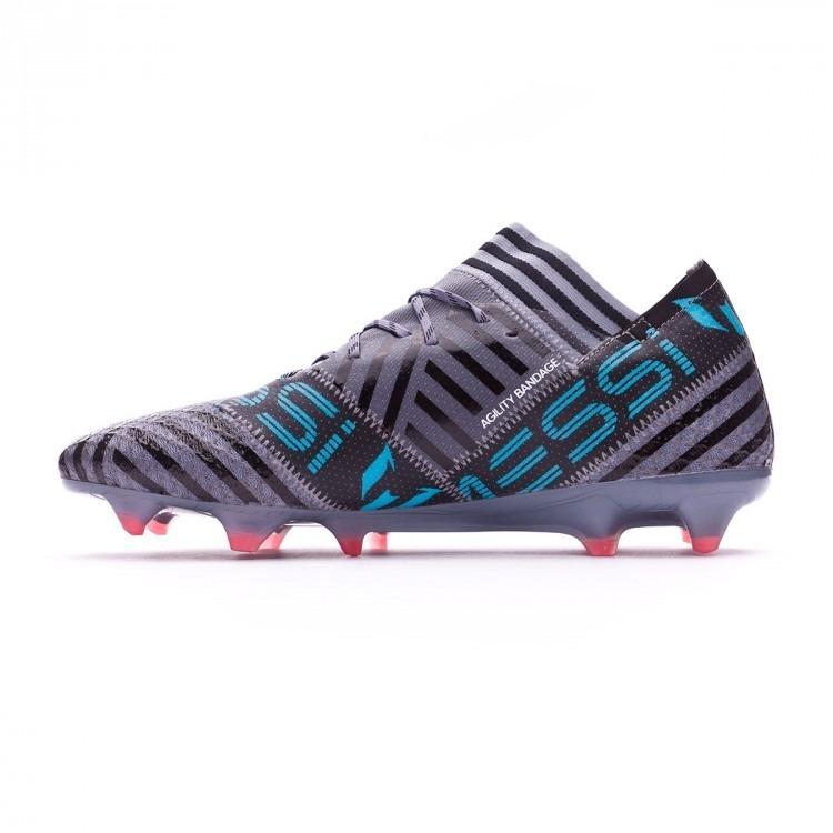 Chuteira adidas Nemeziz 17.1 Fg Messi Cinza - R  299 4b0f798f86a7f