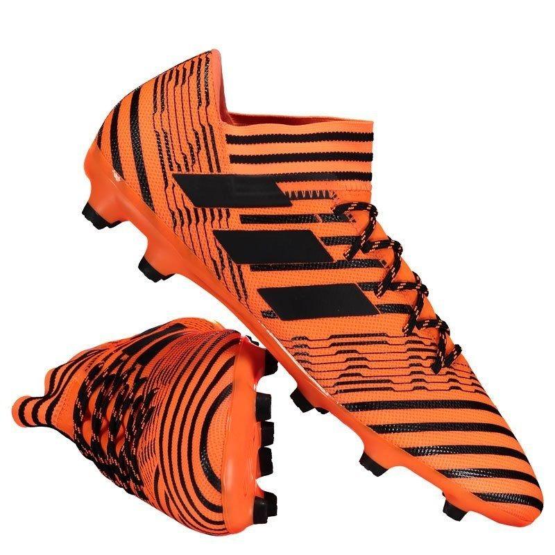 b8de1e768d chuteira adidas nemeziz 17.3 fg campo laranja. Carregando zoom.
