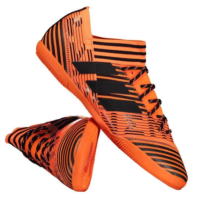 chuteira adidas nemeziz 17.3 in futsal laranja. Carregando zoom. cb882f16cfe51