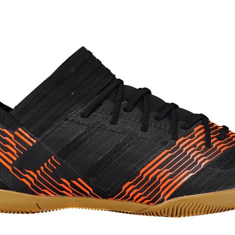 chuteira adidas nemeziz 17.3 in futsal preta e laranja. Carregando zoom. 6e63745ee6a10