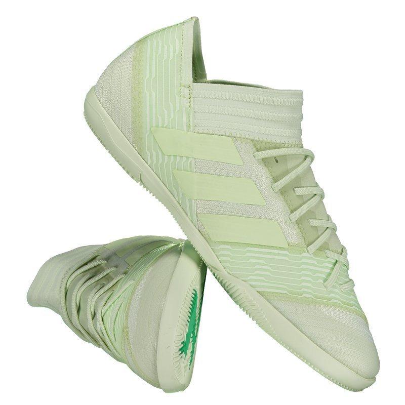 chuteira adidas nemeziz 17.3 in futsal verde. Carregando zoom. f8c1ed9d034f0