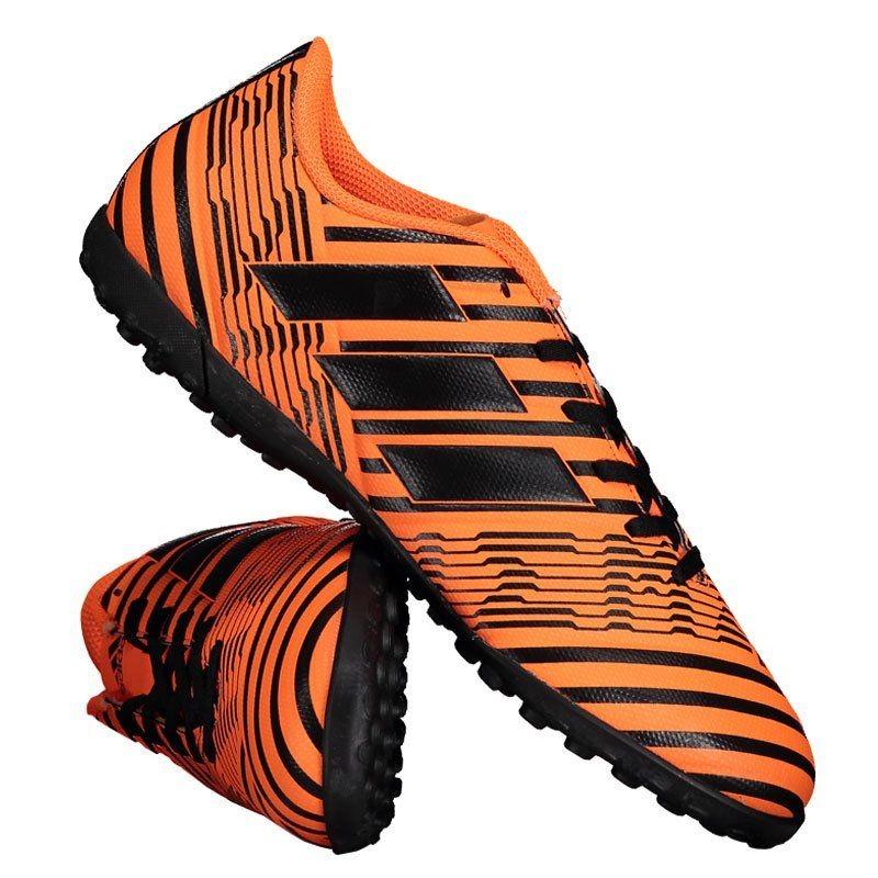 chuteira adidas nemeziz 17.4 tf society laranja. Carregando zoom. 6f25b10826837