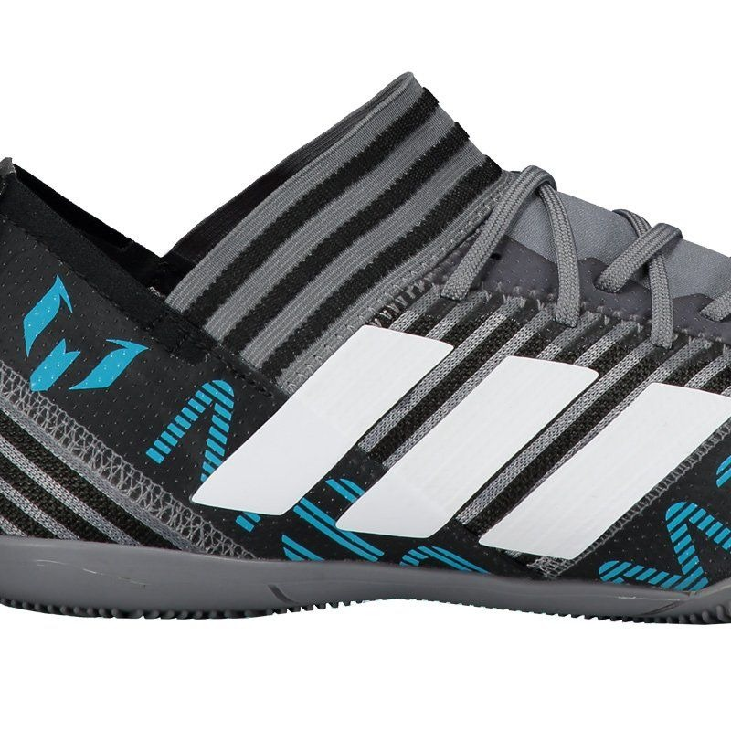 f4d8e0df5f chuteira adidas nemeziz messi 17.3 in futsal cinza. Carregando zoom.