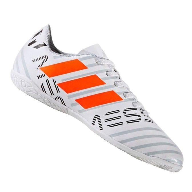 4186e72d67 Chuteira adidas Nemeziz Messi 17.4 Futsal Infantil - R  200