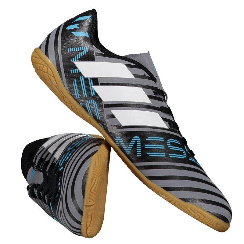 ... chuteira adidas nemeziz messi 17.4 in futsal juvenil cinza. Carregando  zoom. newest collection 4f2c4 ... 18edf7ec77fe1