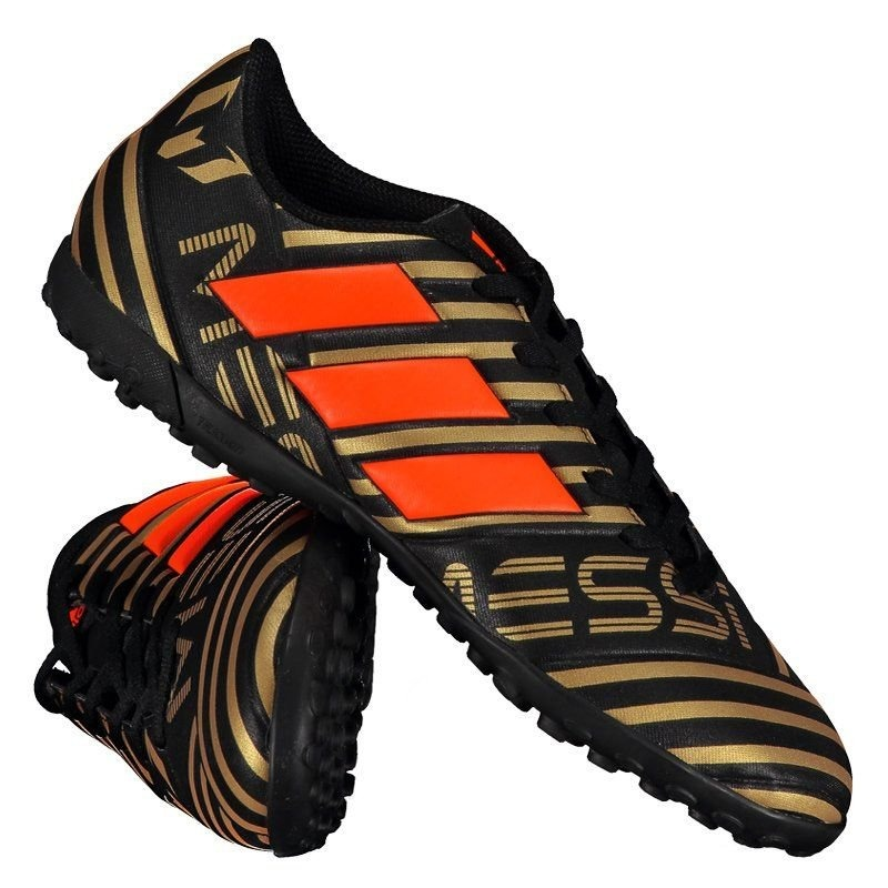 chuteira adidas nemeziz messi 17.4 tf society preta laranja. Carregando zoom.  release date 8e69c ... 2ae49a902c5c8