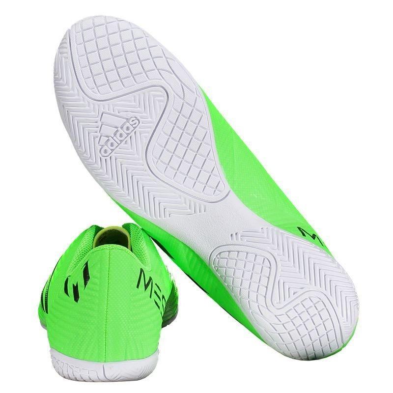 a53b3f2805 chuteira adidas nemeziz messi tango 18.4 in futsal verde. Carregando zoom.