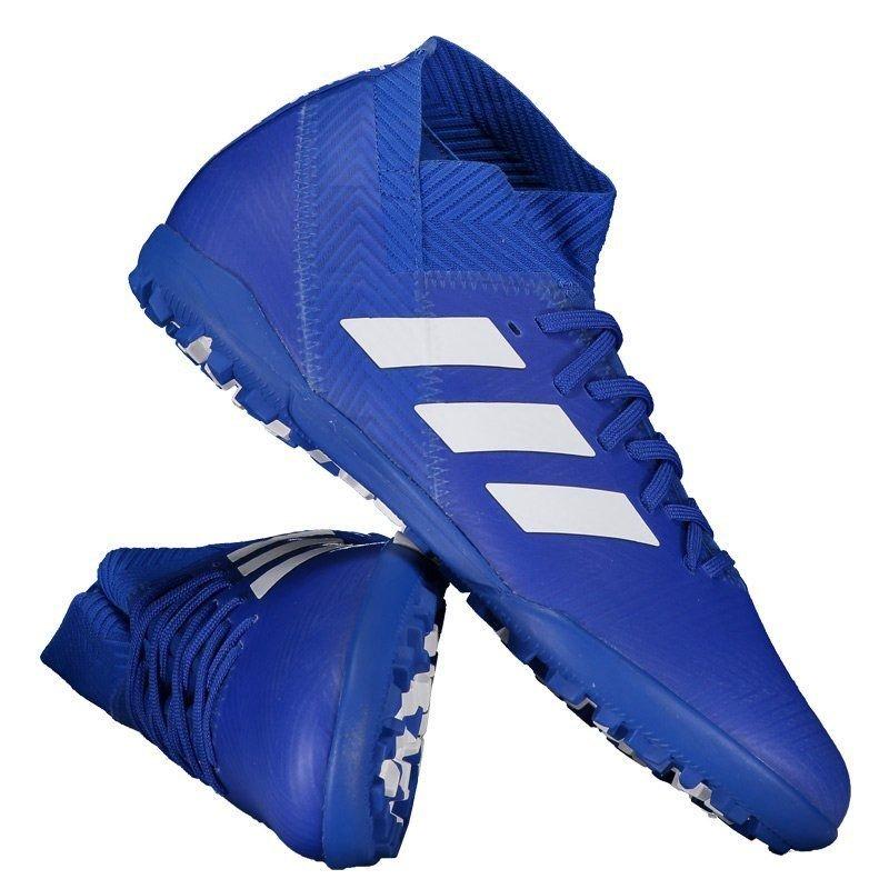 204f24e6754 chuteira adidas nemeziz tango 18.3 tf society azul. Carregando zoom.