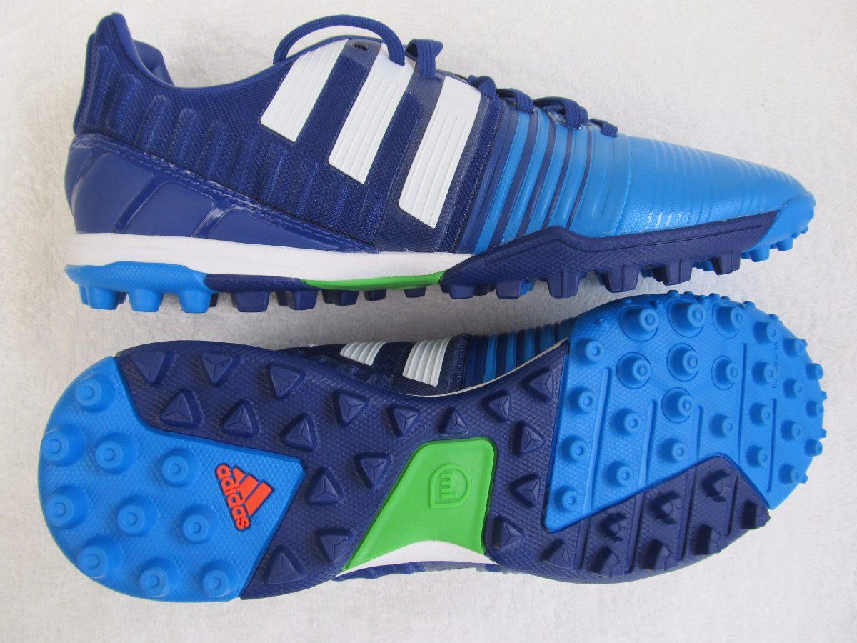 chuteira adidas nitrocharge 2.0 tf society azul tam 39 nova. Carregando  zoom. 5e5e157a31f93