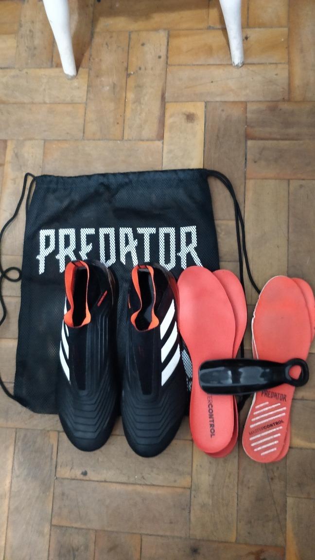 Chuteira adidas Predator 18+ Fg (sem Cadarços) - R  359 1a0dc737f4408