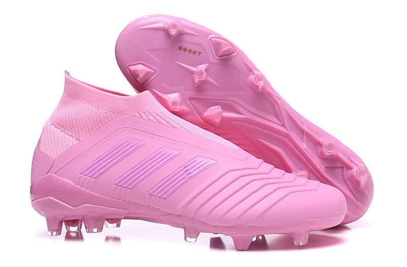 chuteira adidas rosa nova