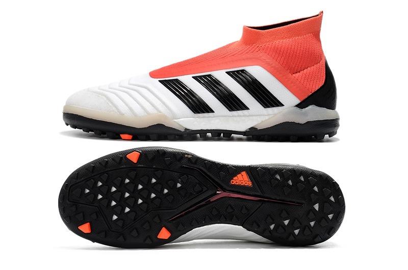 chuteira adidas predator 18 white+red society original. Carregando zoom. d9adab641c955